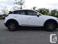 Make Mazda Model Cx-3 Year 2016 Colour White kms 81692