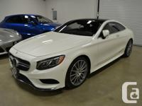 Used, 2016 Mercedes-Benz S550 4Matic Coupe. 4.6L Bi-Turbo V8 for sale  Ontario