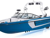 The Super Air Nautique 230 is wide open and ready for