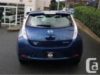 Make Nissan Model Leaf Year 2016 Colour Blue kms 23982