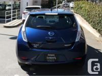 Make Nissan Model Leaf Year 2016 Colour Blue kms 20114