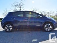 Make Nissan Model Leaf Year 2016 Colour Blue kms 18074