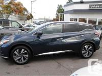 Make Nissan Model Murano Year 2016 Colour Blue kms
