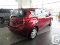 Make Nissan Model Versa Note Year 2016 Colour Red kms