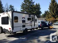 2016 Palomini 179RDS travel trailer. We are the