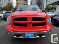 Make Ram Model 1500 Year 2016 Colour Red kms 20339