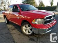 Make Ram Model 1500 Year 2016 Colour Red kms 53397