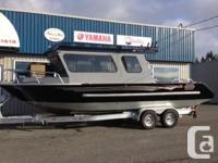 This 22 Pro Cuddy was the Parker Marine show and