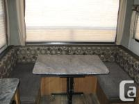 Like new (less than 100 miles total) travel trailer,