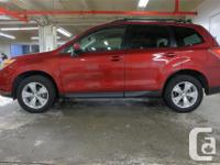 Make Subaru Model Forester Year 2016 Colour Red kms