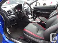 Make Subaru Model WRX Year 2016 Colour Blue kms 40901