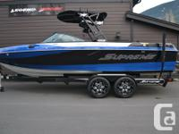 """2016 Supreme S238This boat is known as the """"supremely"""