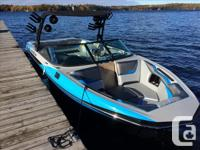 The 2016 Supreme S238 is a 23-foot 8-inch wake surfing