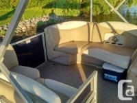 2016 Sylvan 8520 Mirage LE Description: This 2016 20'