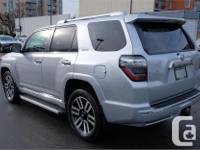 Make Toyota Model 4Runner Year 2016 Colour Silver kms