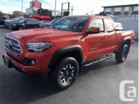 Make Toyota Model Tacoma Year 2016 Colour Red kms