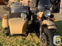 Year 2016 2016 Ural Gear-up - Sahara color A street