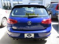 Make Volkswagen Model Golf R Year 2016 Colour Blue kms