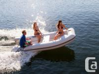 The Supertender Deluxe RIB is designed for someone