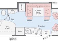 Description: DINETTE SLIDE33 GAL FRESHWATER34 GAL BLACK