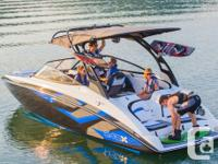 An exclusive, new high-performance wake boat boasting