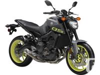 .The FZ-09, a naked sports roadster powered by a