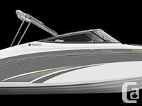 IN-STOCK! 2016 YAMAHA SX240 SPORT BOAT. The most