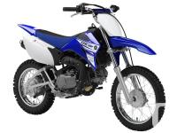 TT-R110ESpark your kids' 2-wheel passion with a