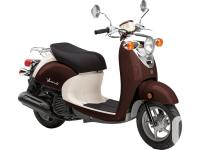 2016 Yamaha Vino 50 Scooter $2799 European style with
