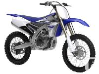 """YZ450FFeaturing a """"reversed"""" rear slanted engine design"""