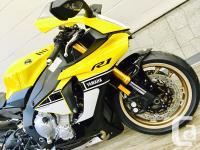 2016 Yamaha YZF-R1 *60th Anniversary Edition* $16849 for sale  British Columbia