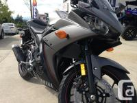 2016 Yamaha YZF-R3 Sport * It's time to ride. Get your