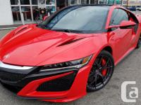 Make Acura Model NSX Year 2017 Colour Curva Red kms 84