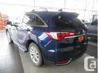 Make Acura Model RDX Year 2017 Colour Blue Trans