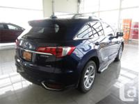 Make Acura Model RDX Year 2017 Colour Blue kms 24584