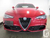 Make Alfa Romeo Model Giulia Year 2017 Colour Red kms