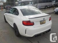 Make BMW Model M2 Year 2017 Colour White kms 3027 Stock