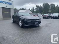 Make Chevrolet Model Camaro Year 2017 Colour Black kms