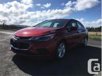 Make Chevrolet Model Cruze Year 2017 Colour Red kms