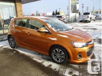 Make Chevrolet Model Sonic Year 2017 Colour Orange kms