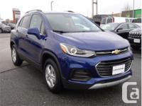 Make Chevrolet Model Trax Year 2017 Colour Blue kms
