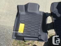 Dodge Durgano OEM All Weather Mats - New $80 half the