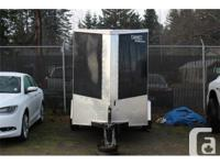 One owner, barely used-like new, 5X10 enclosed single