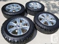 Selling a set of 2017 Ford F150 Platinum OEM Rims Tires for sale  Manitoba