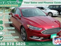 Make Ford Model Fusion Year 2017 Colour Red kms 8646