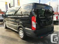 Make Ford Model Transit Wagon Year 2017 Colour Black