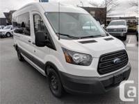 Make Ford Model Transit Wagon Year 2017 Colour White