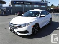 Make Honda Model Civic Coupe Year 2017 Colour White