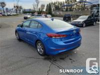 Make Hyundai Model Elantra Year 2017 Colour Blue kms