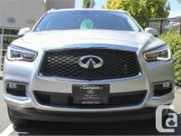 Make Infiniti Model Qx60 Year 2017 Colour Silver kms